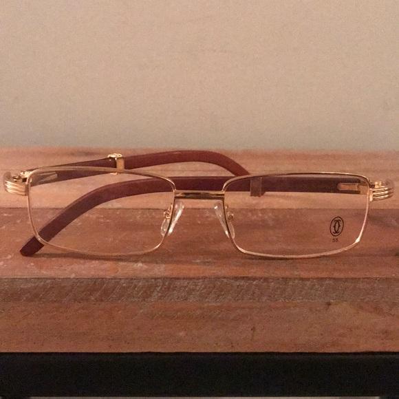 0460fde7e90f Cartier Accessories - CARTIER Wood Collection   Gold Frames!